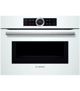 CMG633BW1  Bosch White  Compact oven+microwave 45L