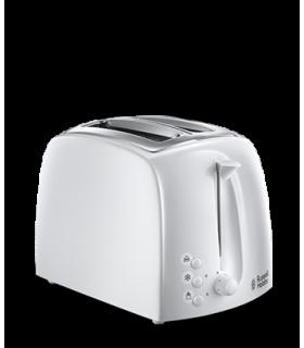 21640-56 RH Textures 2 slice toaster - White